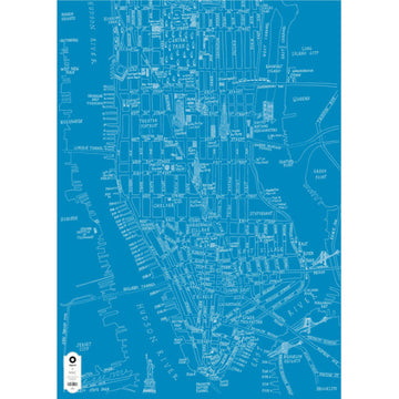 Michael A Hill Map Wrap - New York City