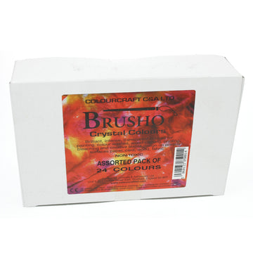 Brusho Assorted 24 Pack