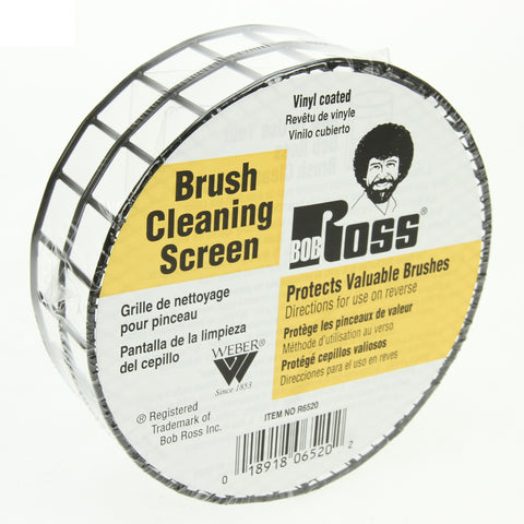 Bob Ross Brush Cleaning Screen