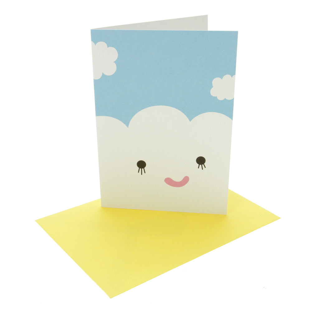 Happy Cloud Greeting Card