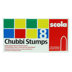 Scola 8 Assorted Chubbi Stumps