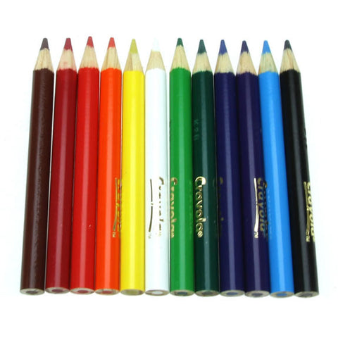Crayola 12 Assorted Coloured Pencils