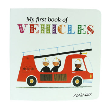 My First Book Of Vehicles
