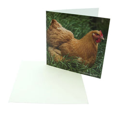 Sound Card - Buff Orpington Hen