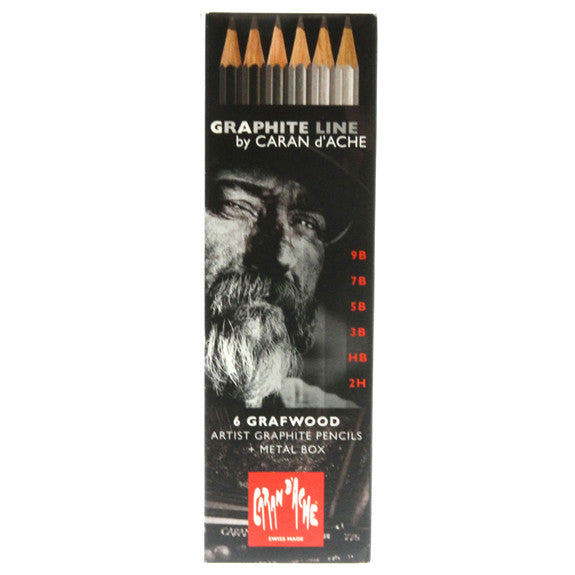 Graphite Line - 6 Grafwood Set