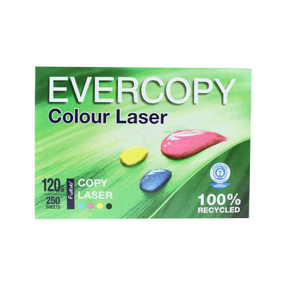 Evercopy Colour Laser 120gsm A4 250pk