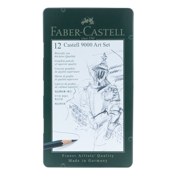 Faber Castell 9000 Art 12 Set