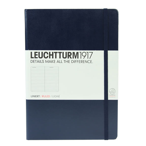 Leuchtturm 1917 Notebook Medium Lined Navy