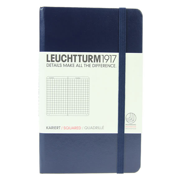 Leuchtturm 1917 Notebook Pocket Squared Navy