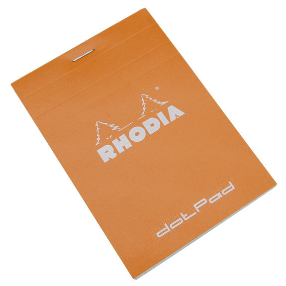 Rhodia Dotpad Orange 8.5 x 12cm