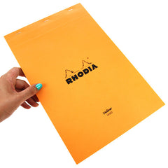 Rhodia Yellow Paper 21 x 31.8 Lined And Margin.