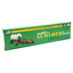 Generals Semi-Hex - Pencils HB - 12pk
