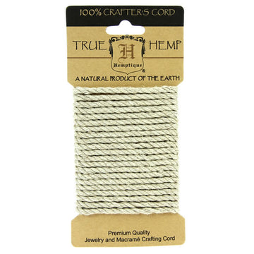 Natural - Hemp Rope 4mm x 3m