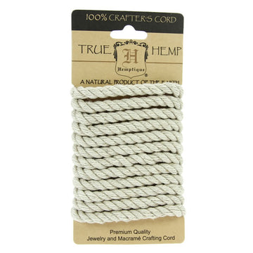 Natural - Hemp Rope 6mm x 2m