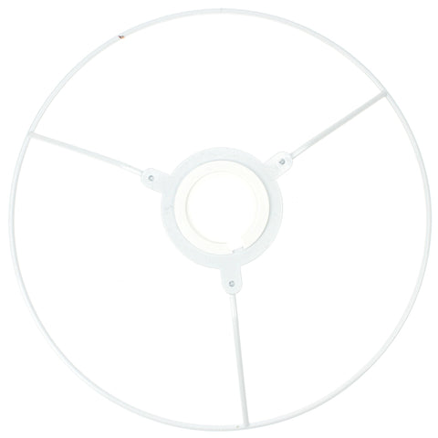"White Coated Utility Ring - 230mm (9"") diameter"