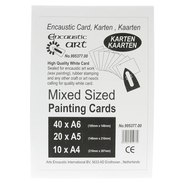Encaustic Card Mixed Sizes