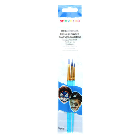 Snazaroo Brush Set Pk3 Blue