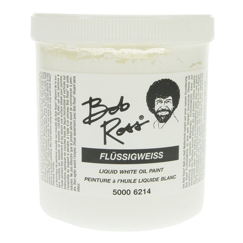 Bob Ross Liquid White Oil Paint 500ml