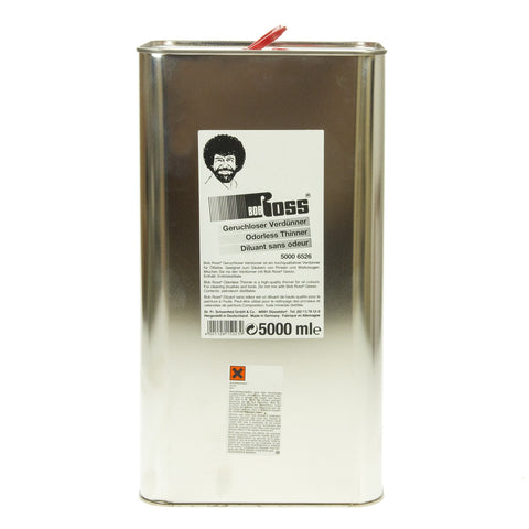 Bob Ross Odourless Thinner 5 Litre