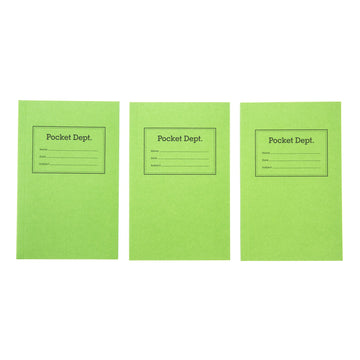 Pocket Dept: The Shirt Pocket Notebook3pk