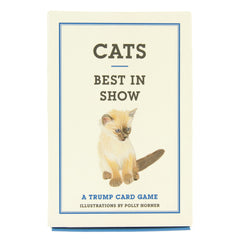 Cats Best In Show Trump Card Game