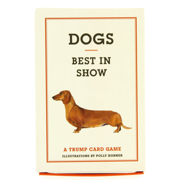 Dogs Best In Show Trump Card Game