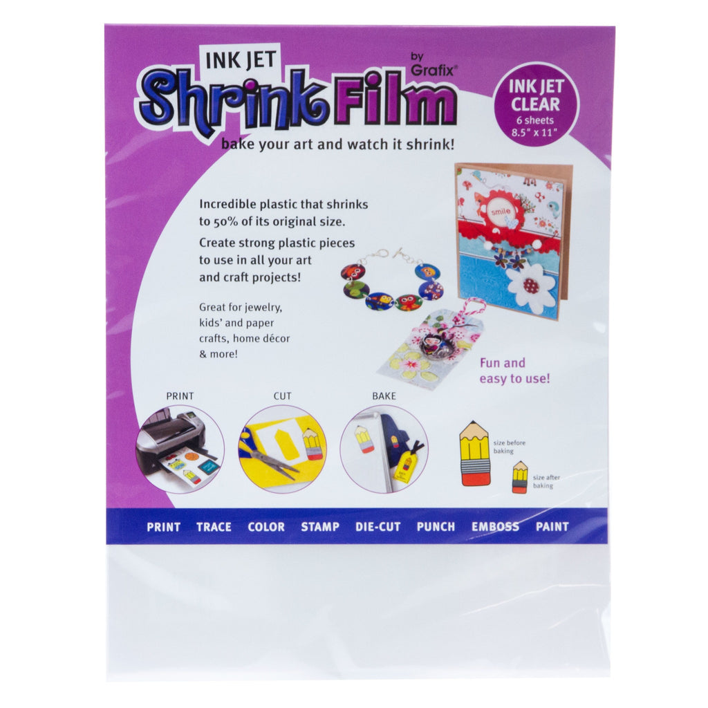 Ink Jet Shrink Film 6pk