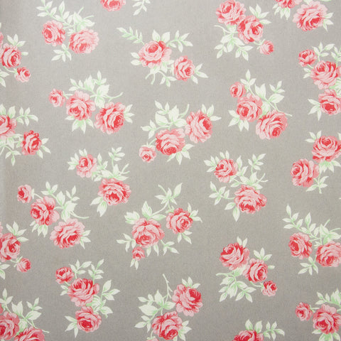 Deco Sheet Ref 646 Roses Grey Background