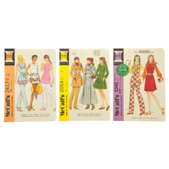 Vintage McCall's Patterns Notebook Pack