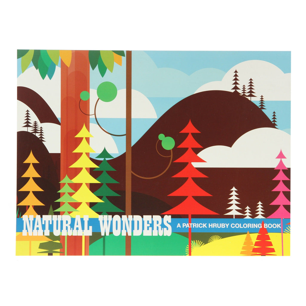 Patrick Hruby Natural Wonders Colouring Book