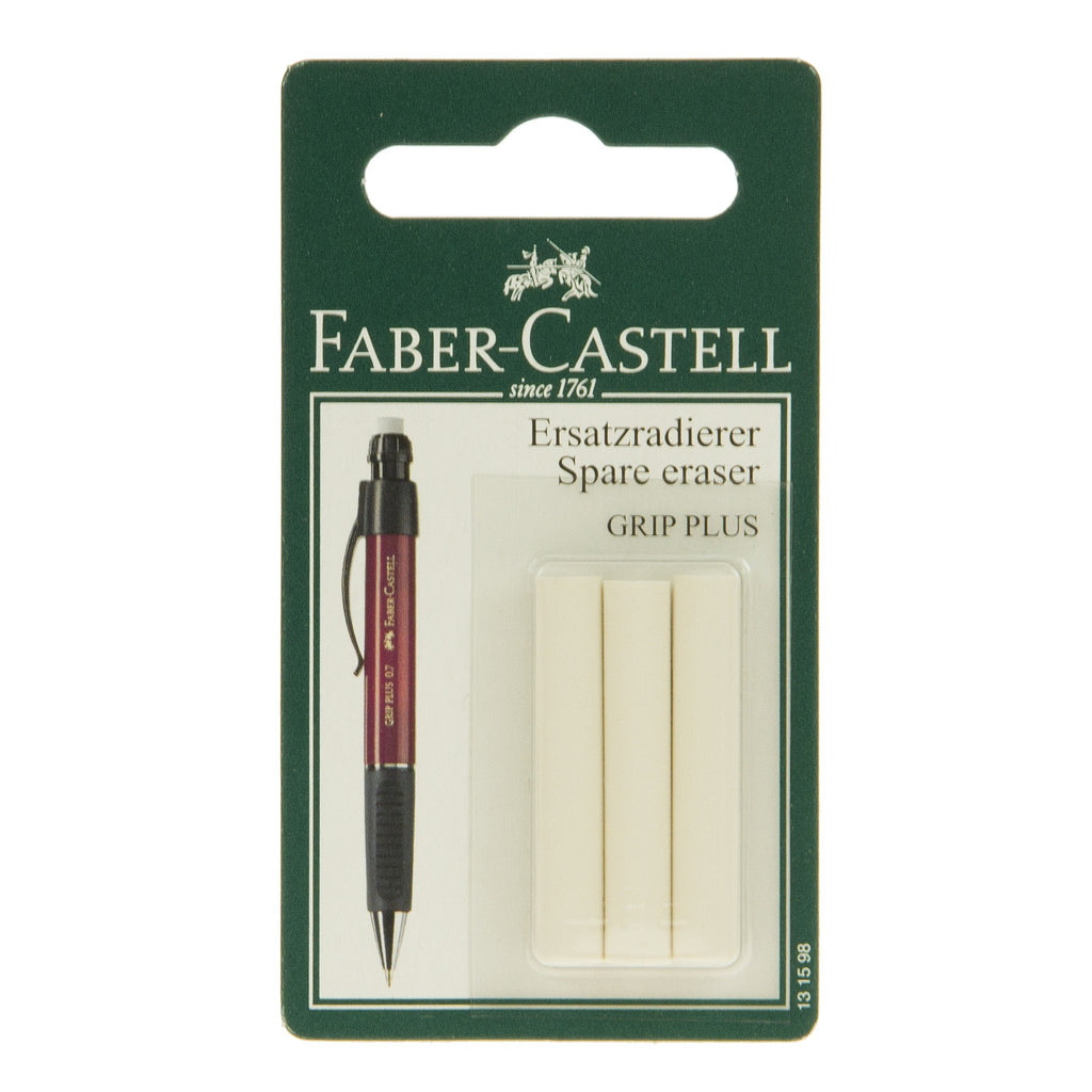 Faber Replacement Erasers For Grip Plus