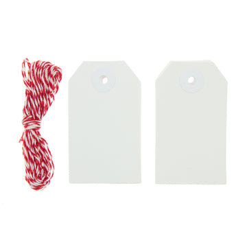 Rico Squared White Gift Tags