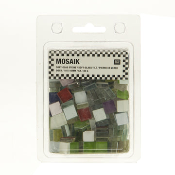 Rico Glass Mosaic Tiles Assorted
