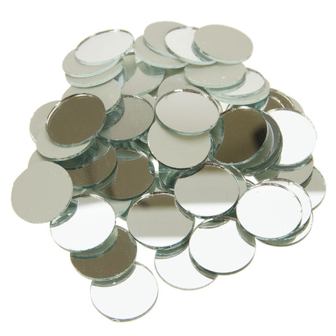Rico Mirror Mosaic Tiles Round 20mm
