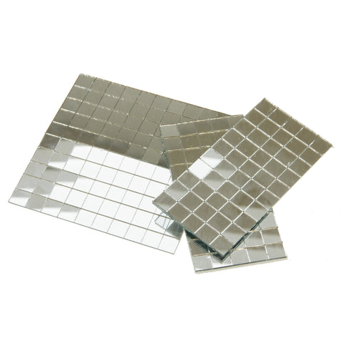 Rico Mirror Mosaic Tiles Square 10mm x 10mm