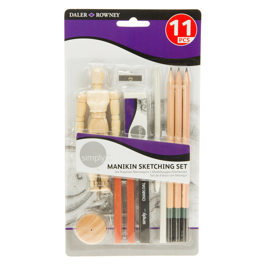 Daler Simply Manikin Sketching Set