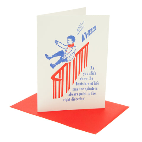 Banisters Of Life Card