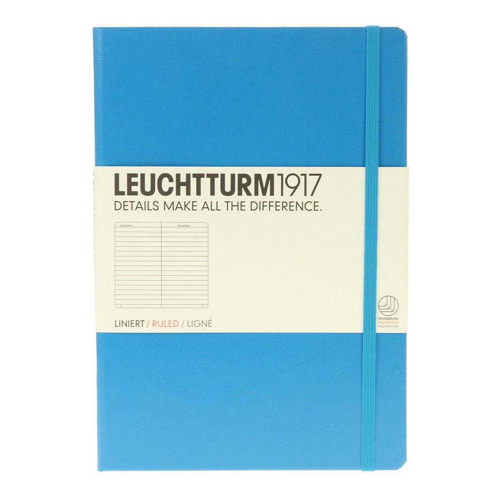 Leuchtturm 1917 Medium Notebook Lined Azure