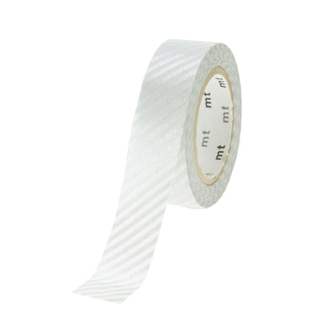 MT Tape Stripes Silver