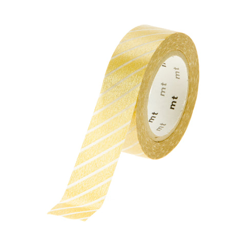 MT Tape Stripes Gold