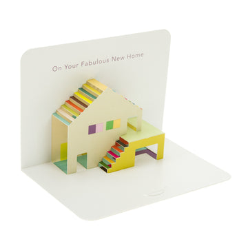 Form Folding Cards - New Home