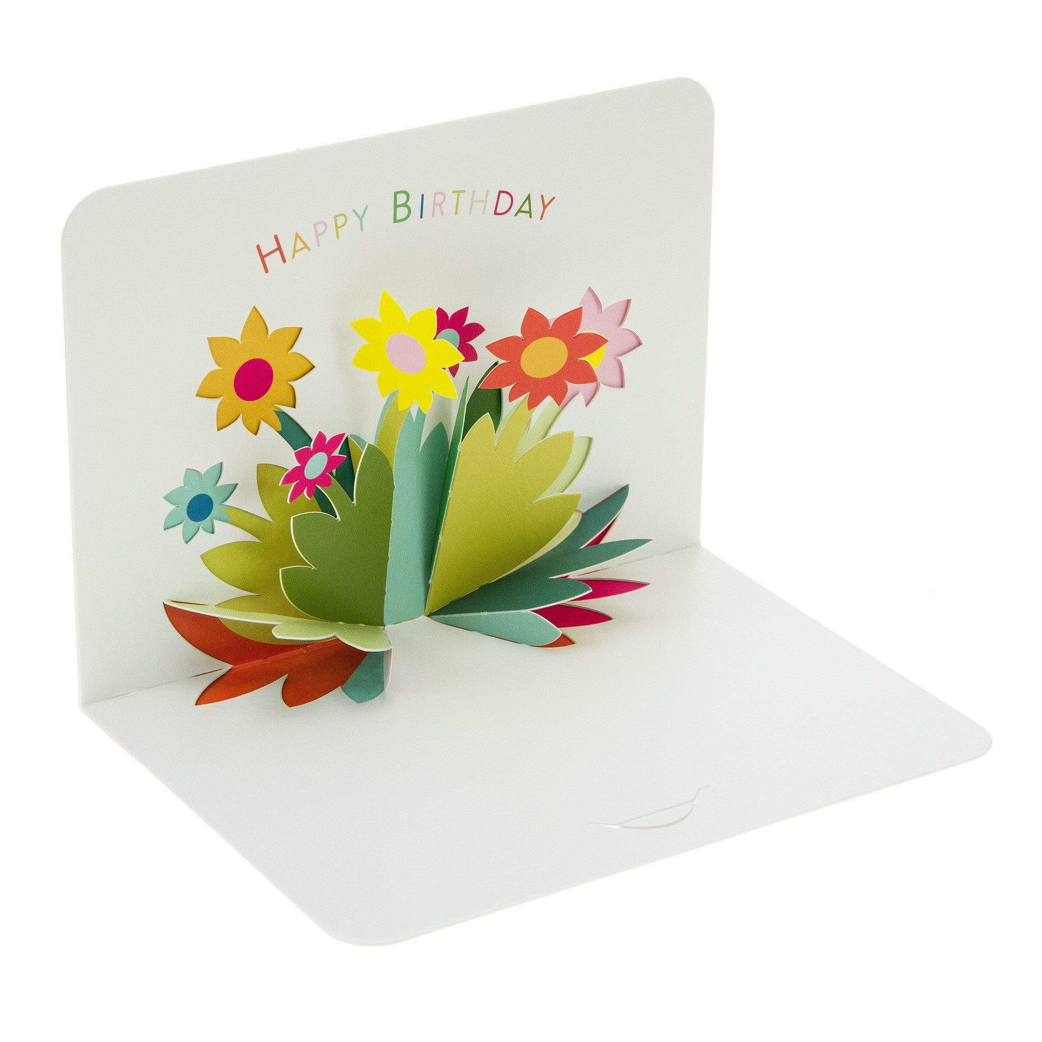 Form Folding Cards Birthday Flowers Fred Aldous