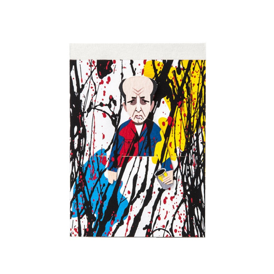 Pollock Artist Pocket Sketchbook