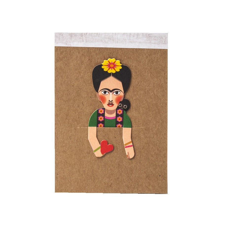 Frida Kahlo Artist Pocket Sketchbook