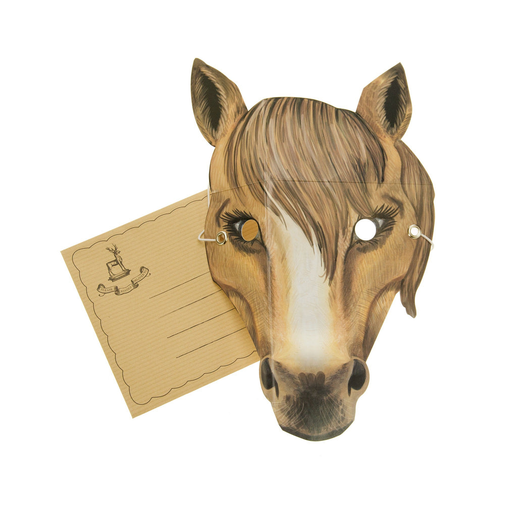 Horse Mask Card