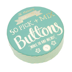 The Makery 50 Mixed Buttons