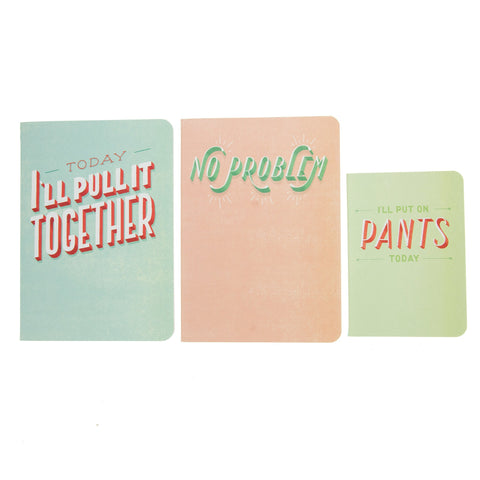 Daily Dishonesty The Daily Notebook 3pk