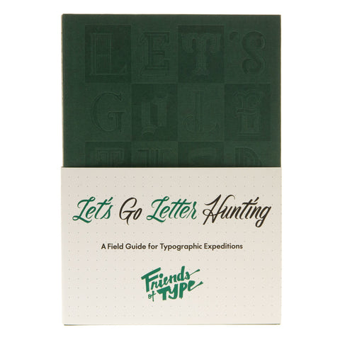 Let's Go Letter Hunting Sketchbook