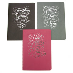 Calligraphuck Notebook Collect