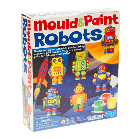4M Mould & Paint Robots
